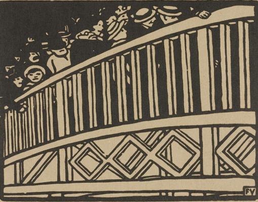 Felix Vallotton. Pedestrian bridge