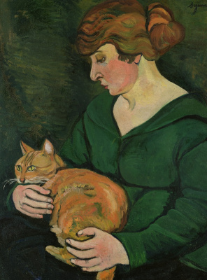 Suzanne Valadon. Woman with a cat