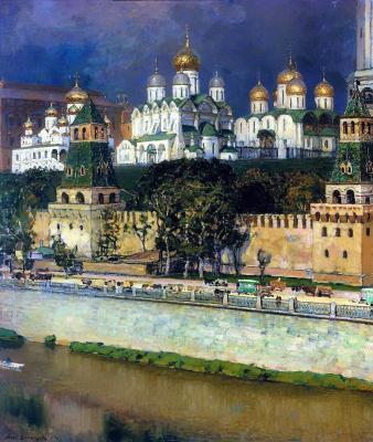 Apollinarius Mikhailovich Vasnetsov. The Moscow Kremlin