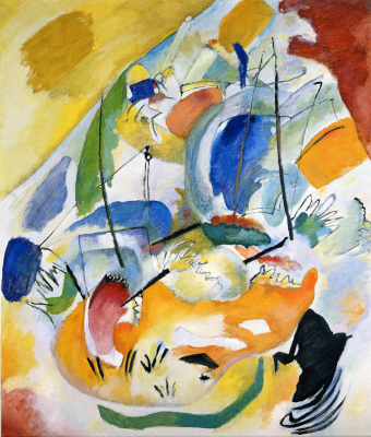 Wassily Kandinsky. Improvizacija 31. Sea battle