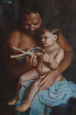 Svetlana Anatolyevna Dodu. Father