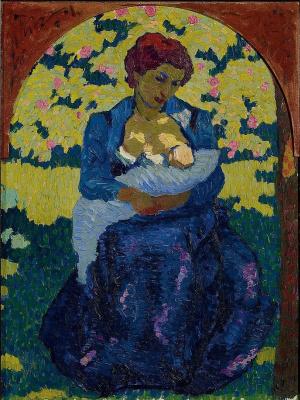 Giovanni Giacometti. Mother and child