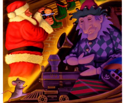 Майкл Гарленд. Мышь перед Рождеством 07