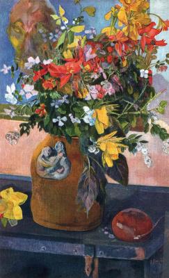 Paul Gauguin. A bouquet of flowers