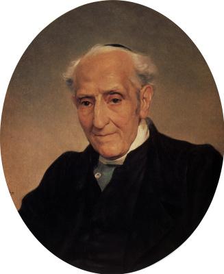 Karl Pavlovich Bryullov. A portrait of the writer and political figure Of Archbishop Giuseppe Capecelatro