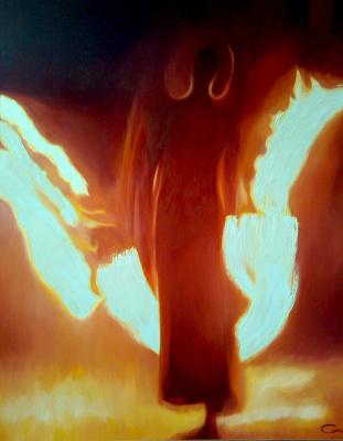 Valerij Ivanovich Sosna. Angel of Fire