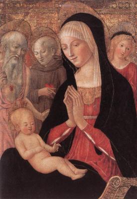 Франческо ди Джорджио Мартини. Богородица с младенцем