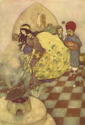 Эдмунд Дюлак. Сказка о рыбаке и история царя Черных островов01