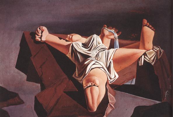 Сальвадор Дали. Фигура на скалах