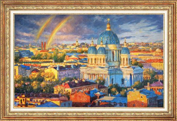 Igor Razzhivin. Rainbow mood of the Northern capital