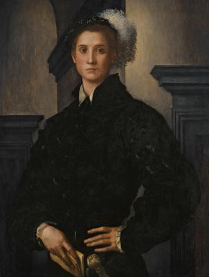Jacopo Pontormo. Portrait of Cosimo Medici