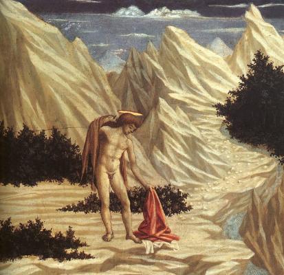 Доменико Венециано. Святой Иоанн в пустыне