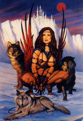 Дориан Клевенгер. Девушка с волками