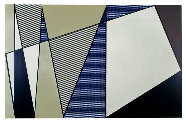 Roy Lichtenstein. Imperfect painting
