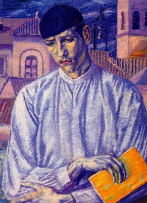Бенджамин Паленсия. Портрет юноши