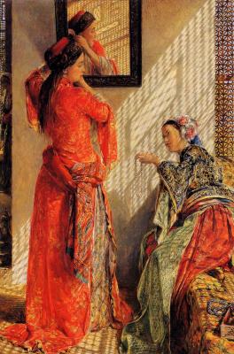 John Frederick Lewis. Cairo gossip girl