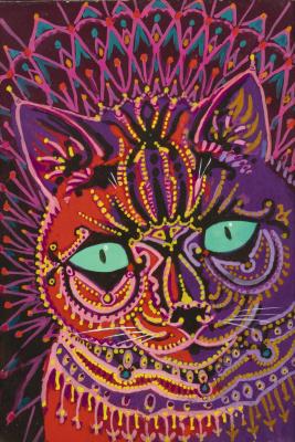 Louis Wain. Cat Kaleidoscope