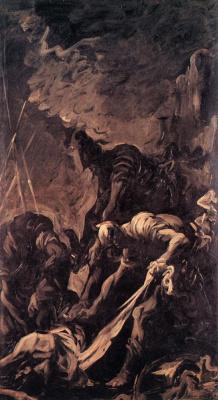 Алессандро Маньяско. Положение во гроб солдата
