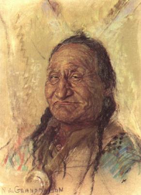 Николас де Гранмезон. Индейский портрет 47