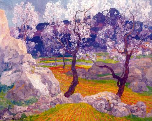 Эрменехильдо Англада Камараса. Цветущие деревья