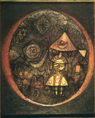 Paul Klee. The tale of the dwarf