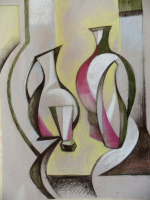 Gulnara Gafarova. Jug and vases