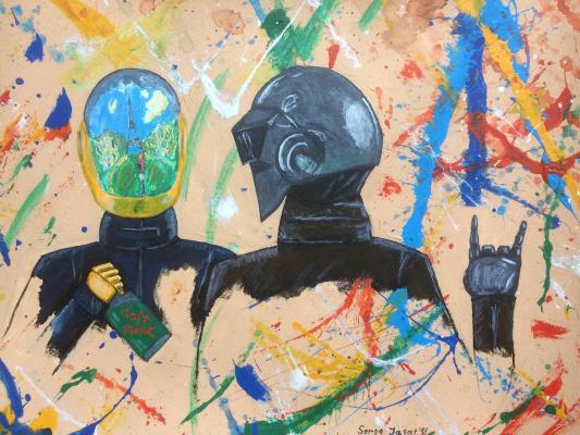 Serge Jagat. Daft Punk