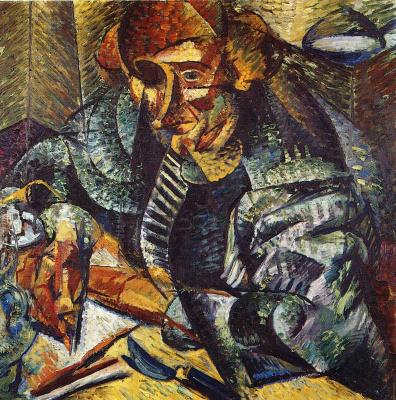 Umberto Boccioni. Plot 3