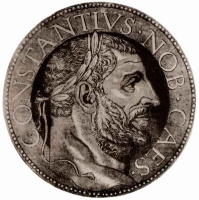 Хуберт Голциус. Император Константин