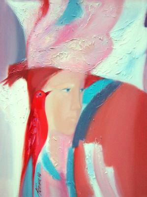 "Galina Nikolaevna Kononova. ""Flowering"" of the triptych ""Garden of Eden"""