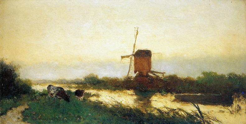 Jan Hendrik Weissenbrook. The landscape in the North