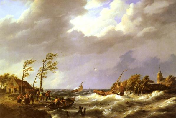 Йоханнес Херманус Куккук. Голландское рыболовное судно