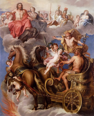 Kouapel Noel. The Apotheosis Of Hercules