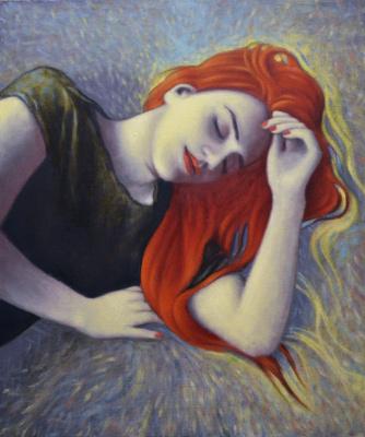 Давид Эпштэйн. Спящая девушка