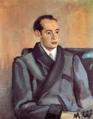 Мануэль Гиль. Мужчина в домашней одежде
