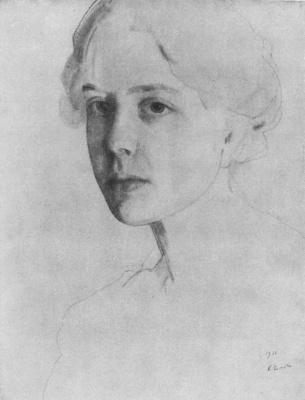 Constantin Somov. Portrait Zvantseva Arts
