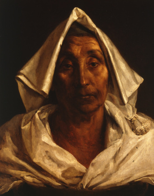 Théodore Géricault. Portrait of an elderly Italian