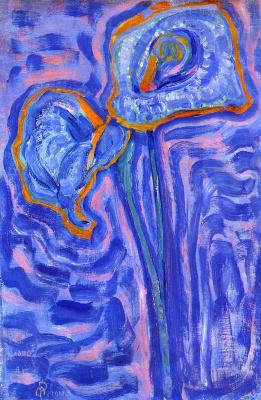 Piet Mondrian. The sun