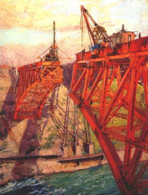 Клэр Шаттлворт. Строительство моста