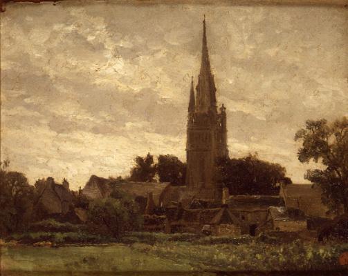 Карлос де Хас. Башня церкви