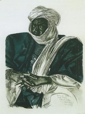 Alexander Yevgenyevich Yakovlev. African Sultan
