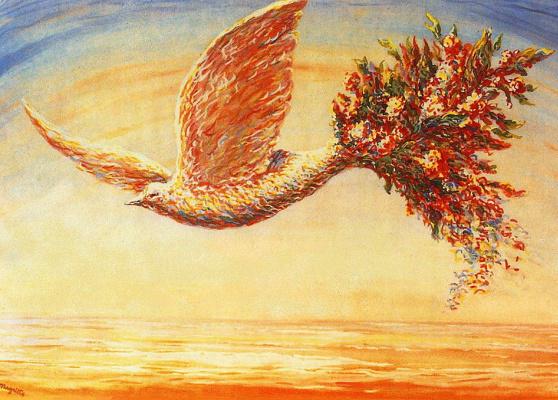 René Magritte. A favorable sign