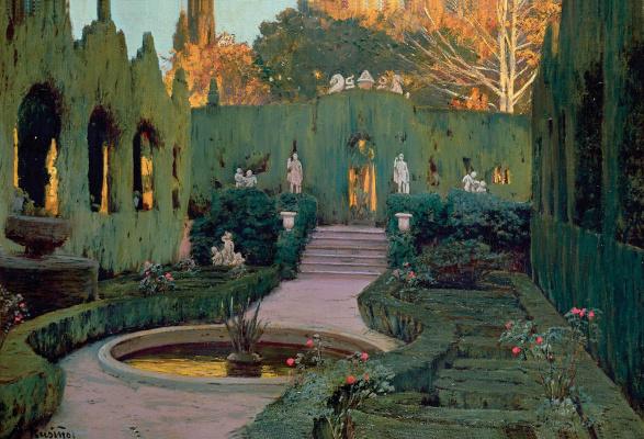 Santiago Rusignol. Monforte Gardens