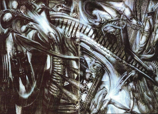 Hans Rudolph Giger. New York