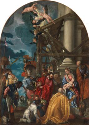 Paolo Veronese. Worship of kings