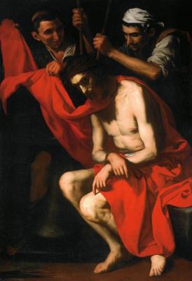 Хосе де Рибера. Коронование терновым венцом