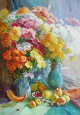 Виктория Коркишко. Осенний натюрморт