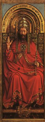 Хуберт ван Эйк. Христос