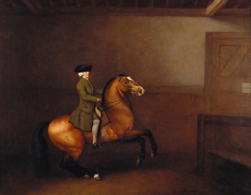 George Stubbs. Portrait of a gentleman