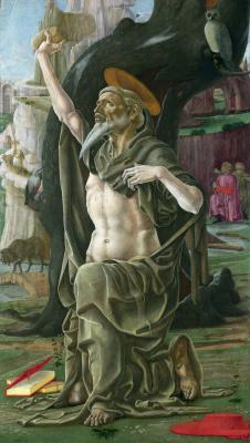 Козимо Тура. Святой Иероним